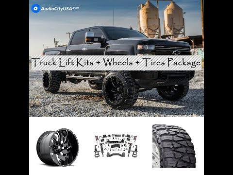 Introducing Truck Suspension Lift kits & Wheels & Tires Package