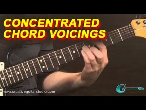 RHYTHM GUITAR - Concentrated Chord Voicings