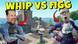 WHIPPIT vs FIGGEHN I FORTNITE *FLUSH FACTORY* Playground