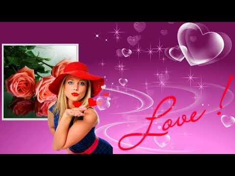HD Footage Love Футаж Фон для видеомонтажа Любовь