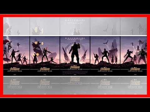 Breaking News | Cool Stuff: These Matt Ferguson 'Infinity War' Posters Will Make You Want to See th