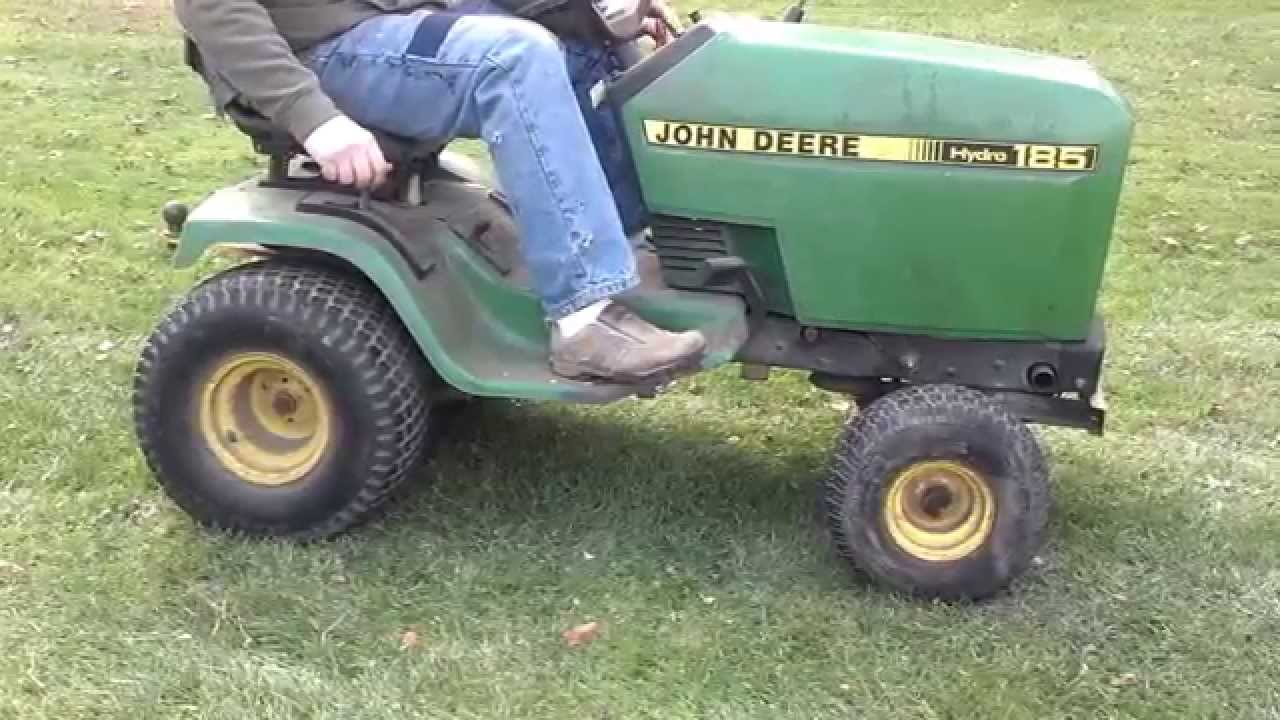 John Deere Hydro 185 Yard Tractor