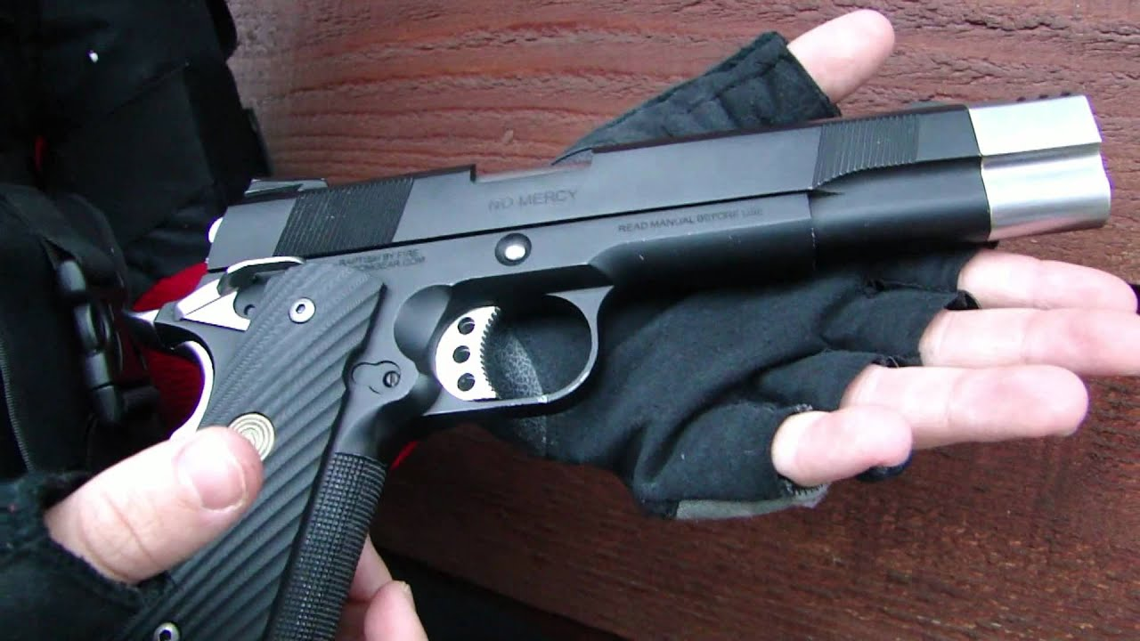 Socom Gear Punisher 1911 Custom Review (Airsoft) - YouTube