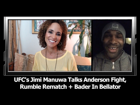 UFC London's Jimi Manuwa Talks Anderson Fight, Rumble Rematch, Glover's Ducking + Bader In Bellator