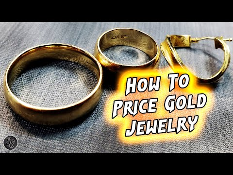 How To Price 10k, 14k, 18k, And 24k Gold!