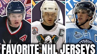My FAVORITE Jersey From EVERY NHL Team! (Best NHL Jerseys of All Time/Retro Jersey Breakdown)