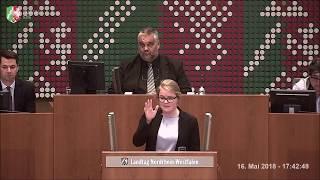 Rede vom 16.05.2018 zur Datenschutz-Grundverordnung - Plenarsitzung NRW