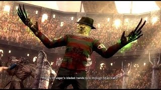 Mortal Kombat 9 Freddy Krueger Фаталити, бабалити, концовка игры X Ray