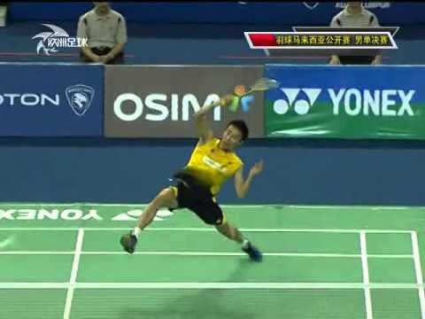 Malaysia Open MS F Lee Chong Wei vs Taufik Hidayat 李宗伟vs陶菲克