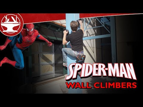We Made Spider-man Wallclimbers!