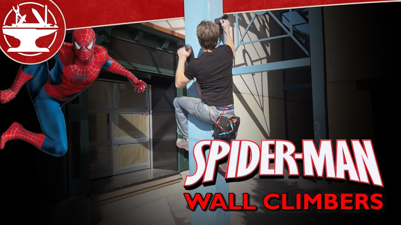 Climb Like Spider-Man with Electromagnetic Climbing Clamps