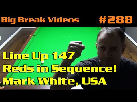 Line Up 147 – Reds in Sequence! Mark White, USA