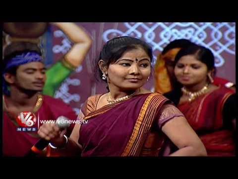 Chennaga Chenla Nillabadi Song   Telangana Folk Songs   Dhoom Thadaka   V6 News