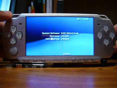 5.50 GEN-D3 TÉLÉCHARGER FLASH PSP