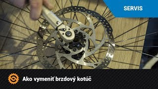 Ako vymeniť brzdový kotúč | SERVIS - MTBIKER.SK