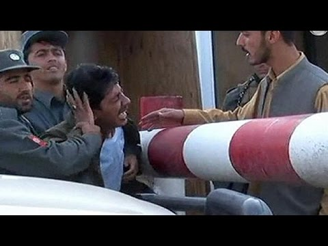 Taliban suicide bombers strike Afghan and Pakistani police