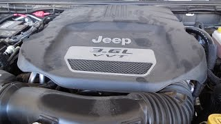 How To: Change your Engine Oil in your Jeep Wrangler 3.6L V6 (RockTrooper)