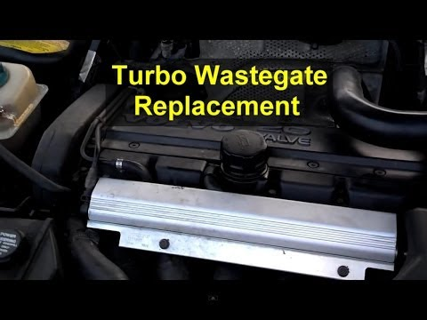 Turbo wastegate actuator replacement, Volvo 850, S70, XC70, etc. – Auto Repair Series