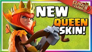 NEW QUEEN SKIN UNLOCKED! The Autumn Queen is the FIRST UNLOCKED | Clash of Clans