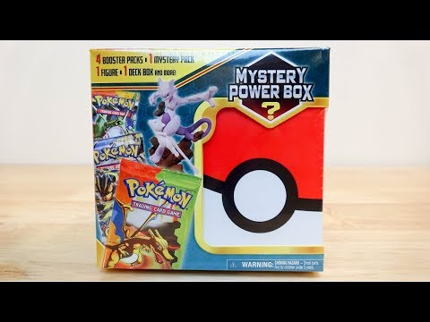 Oh look, new Pokemon Mystery Power Boxes...