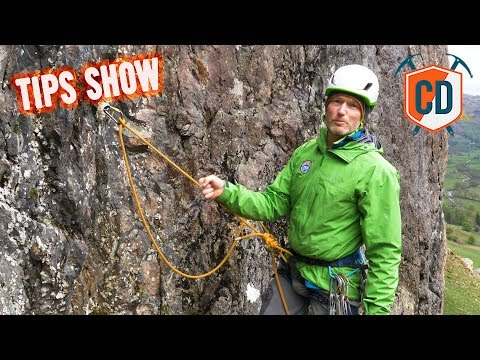 How To Build And Equalise A Trad Climbing Anchor  Climbing Daily Ep1174