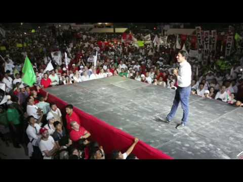 14 mil en cierre de campaña de Remberto Estrada