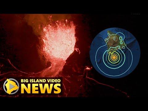 Hawaii Volcano Update: Magnitude 6.2 Earthquake, Kilauea Eruption (Oct. 11, 2021)