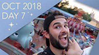 Walt Disney World Vlog | Day 7 | Last Day | October 2018 | Adam Hattan & Gary C