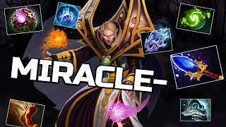 Miracle- Invoker God WTF Comeback - 9k EPIC Gameplay Dota 2