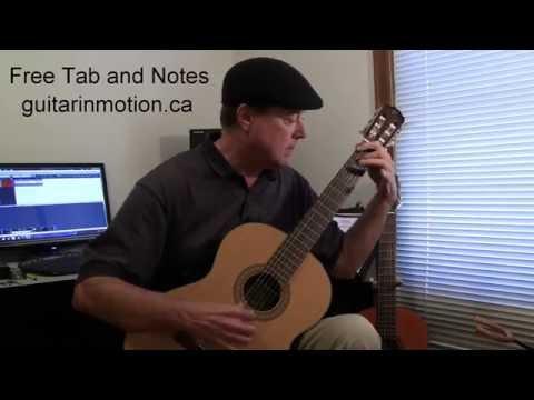 Flamenco Guitar Solo , Amazing Rumba FREE TAB