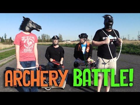 Chariot Driven Archery Battle!