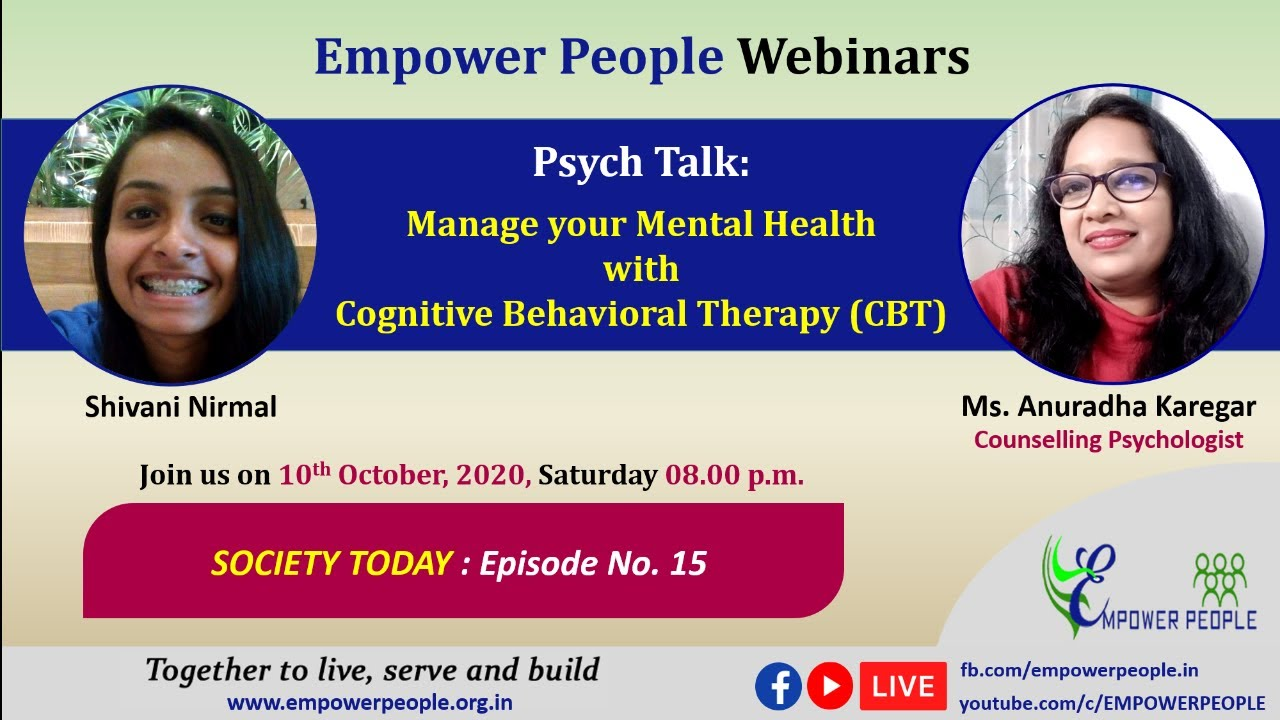 PsychTalk: Manage your Mental Health with  Cognitive Behavioral Therapy (CBT)