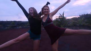 GRATITUDE DANCIN ON LAVA FIELDS