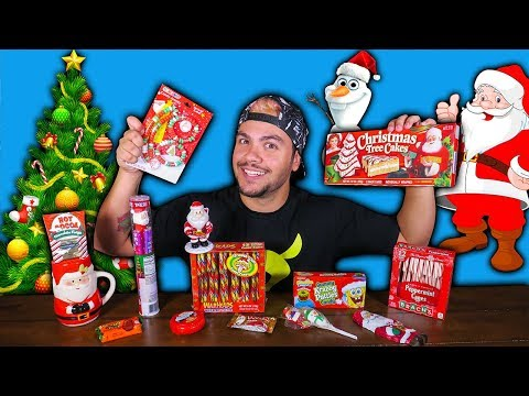 PROVANDO DOCES DE NATAL !! (EXCLUSIVOS)