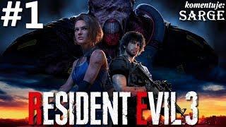 Zagrajmy w Resident Evil 3 Remake PL odc. 1 - Nemesis w Raccoon City | Hardcore