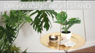 Excited to share another incredibly simple DIY that will cost you just $5 to make! Not only do I love the look of hanging nightstands/