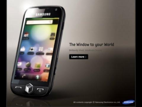 c mo instalar android en omnia ii beta 2 y beta 3 youtube rh youtube com Samsung Duos Celular Samsung GT S5360