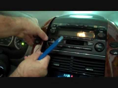 Toyota Sienna Stereo Removal 20042010  YouTube