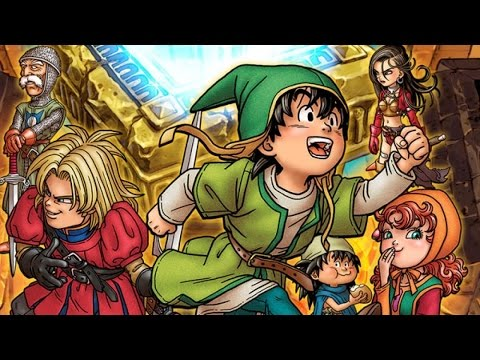 Dragon Quest 7: Fragments of the Forgotten Past -Traveller's Tablets Demonstration