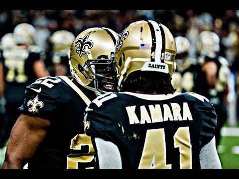 Mark Ingram x Alvin Kamara- New Orleans Saints Running Back Duo