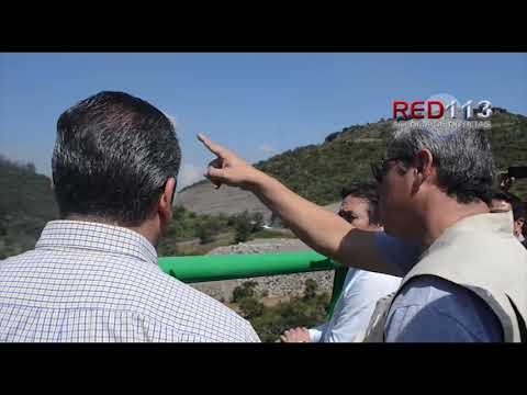 VIDEO Presidente municipal de Morelia supervisa Ramal Camelinas