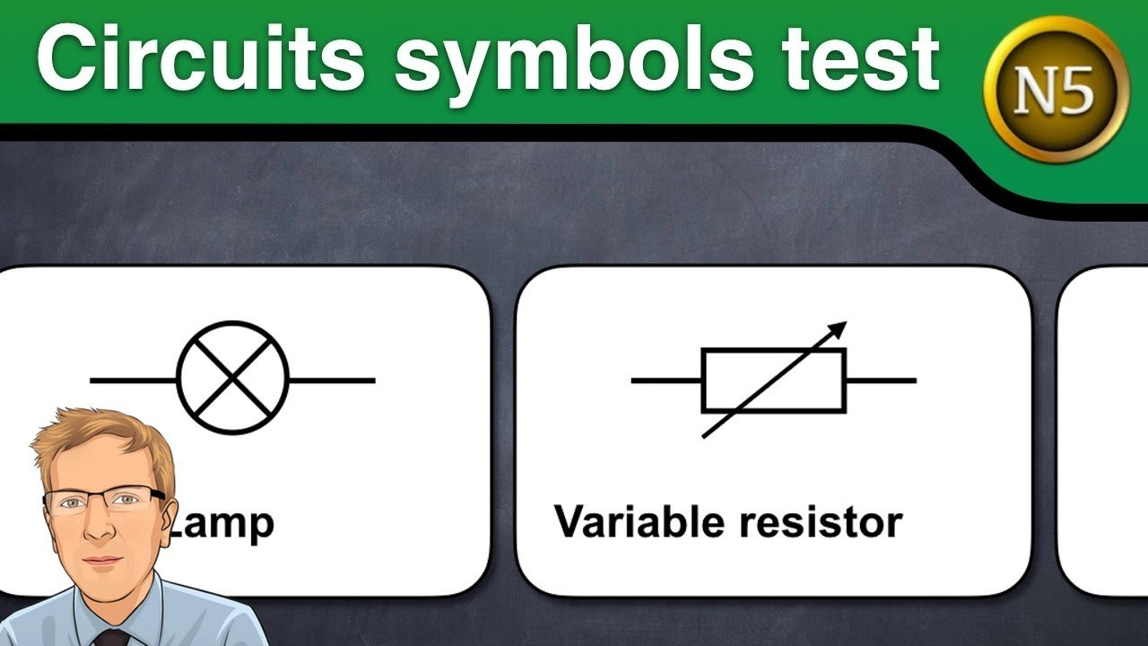 Circuit symbols test (National 5 Physics) - YouTube