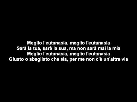 Gemitaiz & Madman - Eutanasia (con testo) ft. Jake La Furia