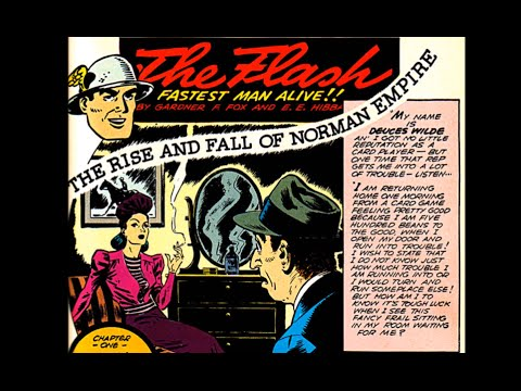 """Flash: Adventure Comics # 67 - """"The Rise and Fall of Norman Empire"""""""