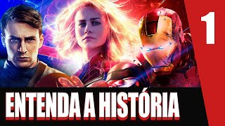 Saga MARVEL | MCU | PT. 1 | Cronologia e história dos filmes da Marvel