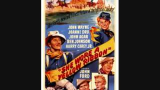 "The theme for John Ford's ""She Wore A Yellow Ribbon"" (1949)."