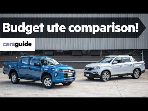 Mitsubishi Triton v SsangYong Musso comparison review