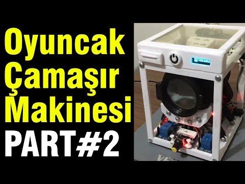 Oyuncak Çamaşır Makinesi Part#2 (Arduino + 3D Printer)