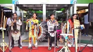 외국음악 중부고속도로 음성휴게소 남미인디언음악공연