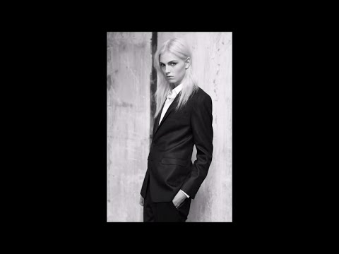 Andrej Pejic Men Fashion Show Runway Looks  - The Sisters of Mercy - More